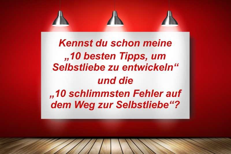 Selbstliebe 10 Tipps